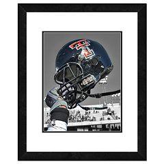 Texas Tech Red Raiders Helmet Framed 11' x 14' Photo