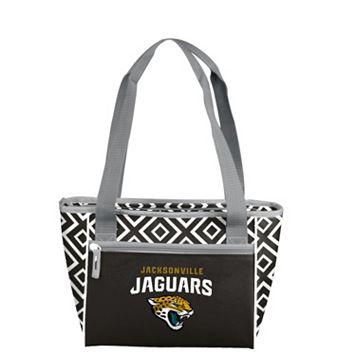 Logo Brand Jacksonville Jaguars 16-Can Diamond Cooler Tote