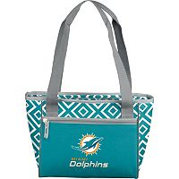 Logo Brand Miami Dolphins 16-Can Diamond Cooler Tote