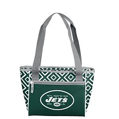 Logo Brand New York Jets 16-Can Diamond Cooler Tote