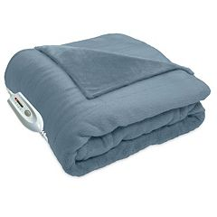 Serta Heated Cuddler Electric Oversized Throw