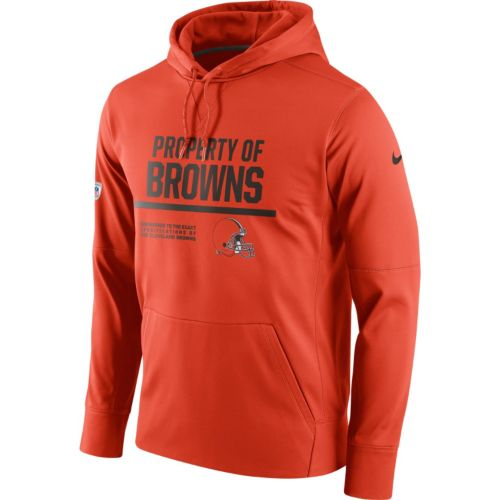 Men's Nike Cleveland Browns Circuit Therma-FIT Hoodie