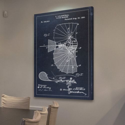 """Marmont Hill """"Patent"""" Smithsonian Canvas Wall Art"""