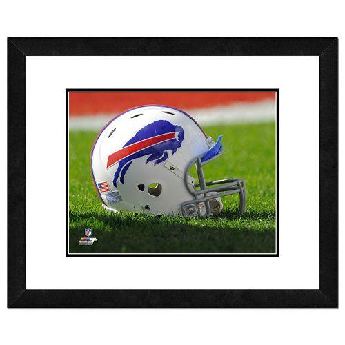 Buffalo Bills Helmet Framed 11