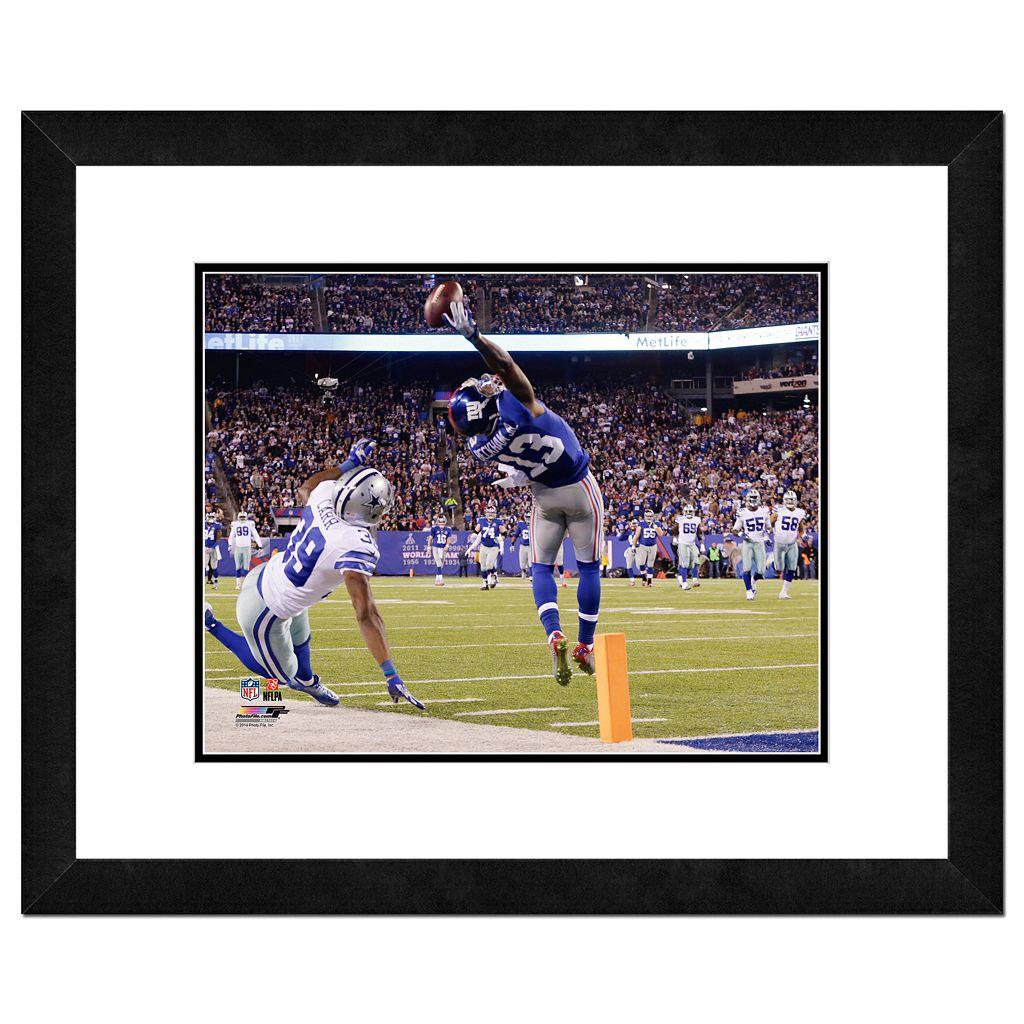 New York Giants Odell Beckham Jr. Framed 11