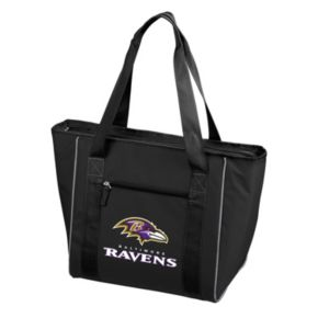 Logo Brand Baltimore Ravens 30-Can Cooler Tote