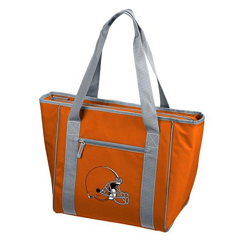 Logo Brand Cleveland Browns 30-Can Cooler Tote