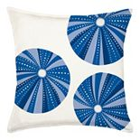 Greendale Home Fashions Sea Urchin Repeat Throw Pillow