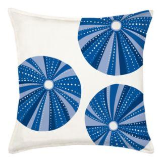 Greendale Home Fashions Sea Urchin Repeat Throw Pillow