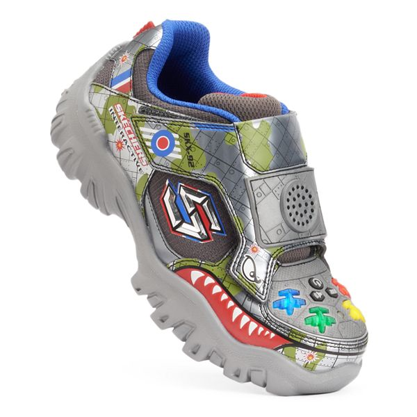 Skechers Damager Game Kicks Ii Boys Interactive Light Up Shoes