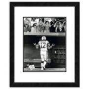 """New York Jets Joe Namath Shrug Framed 11"""" x 14"""" Photo"""