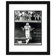 New York Jets Joe Namath Shrug Framed 11' x 14' Photo