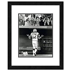 New York Jets Joe Namath Shrug Framed 11' x 14' Photo