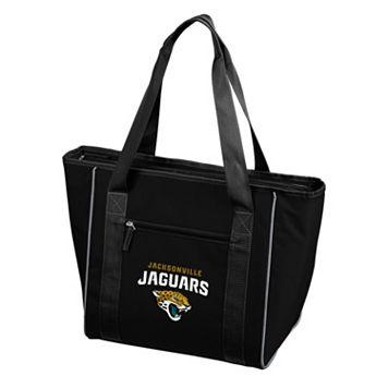 Logo Brand Jacksonville Jaguars 30-Can Cooler Tote