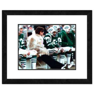 "New York Jets Joe Namath Framed 11"" x 14"" Photo"