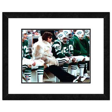 New York Jets Joe Namath Framed 11