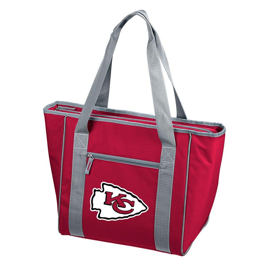 Logo Brand Kansas City Chiefs 30-Can Cooler Tote