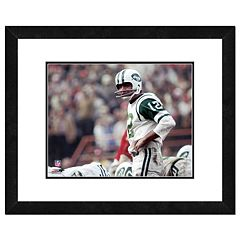 New York Jets Joe Namath Framed 11' x 14' Photo