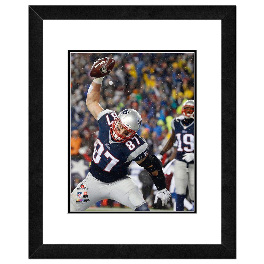 New EnglandPatriots Rob Gronkowski Spike Framed 11