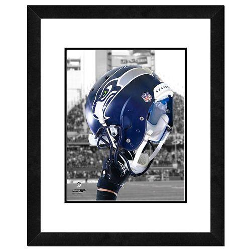 "Seattle Seahawks Helmet Framed 11"" x 14"" Photo"