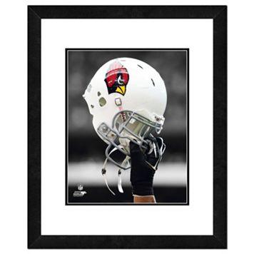 Arizona Cardinals Helmet Framed 11