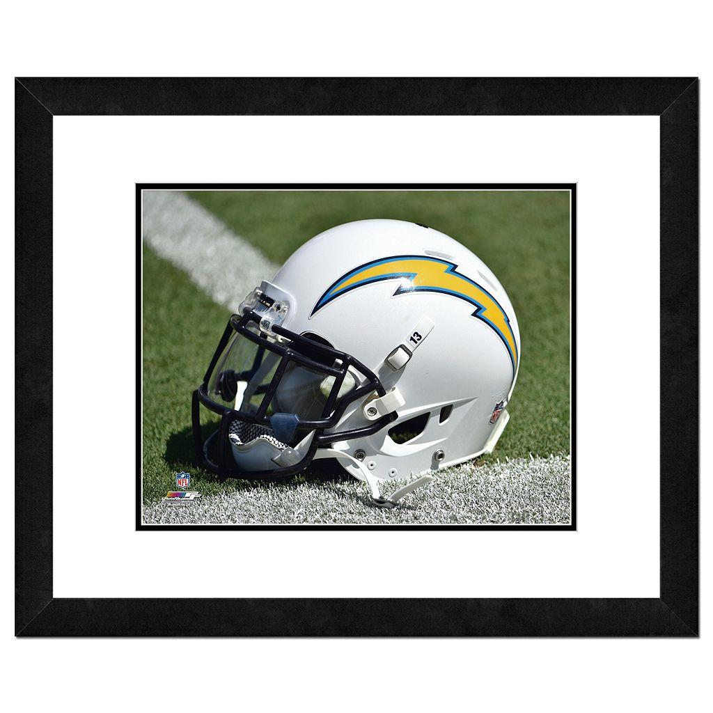 San DiegoChargers Helmet Framed 11