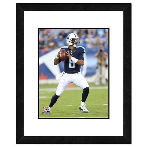 "Tennessee Titans Marcus Mariota Framed 11"" x 14"" Photo"