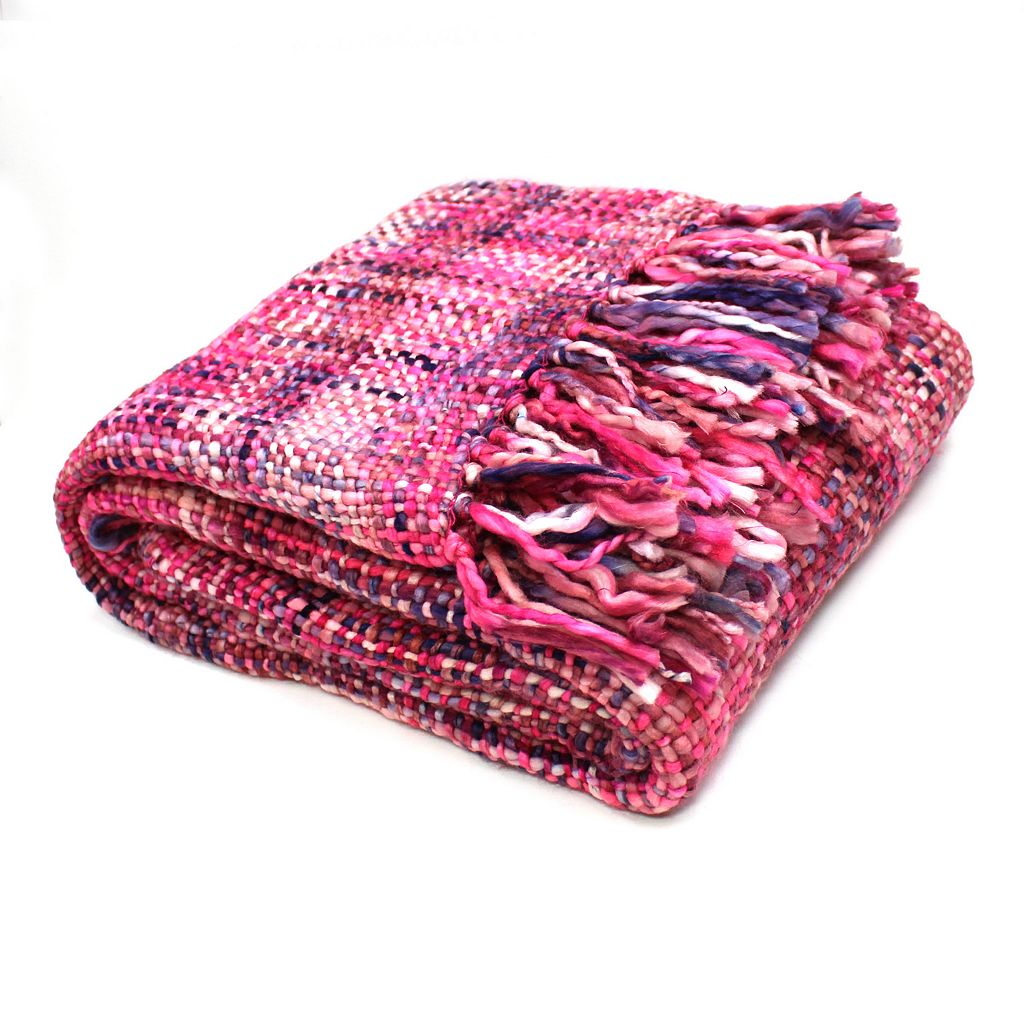 Oversized Knit Throw