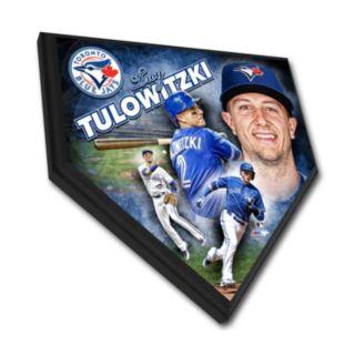 Toronto Blue Jays Troy Tulowitski Home Plate Plaque