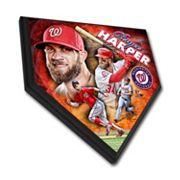 Washington Nationals Bryce Harper Home Plate Plaque