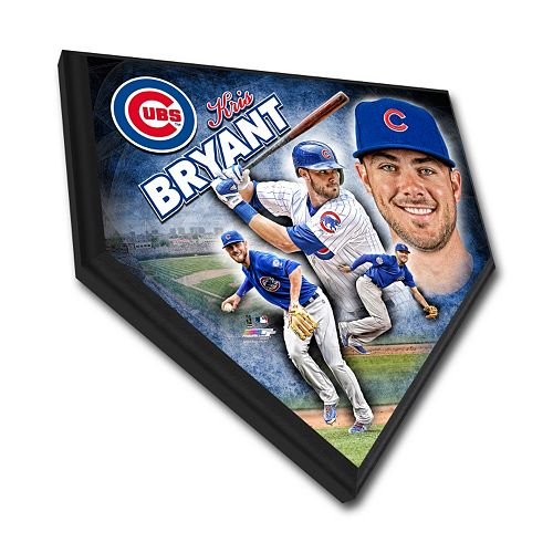 Chicago Cubs Kris Bryant Home Plate Plaque