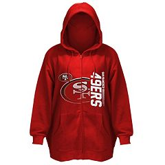 Plus Size Majestic San Francisco 49ers Hoodie