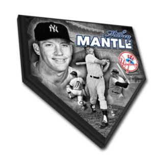 New York Yankees Mickey Mantle Home Plate Plaque