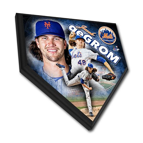 New York Mets Jacob DeGrom Home Plate Plaque