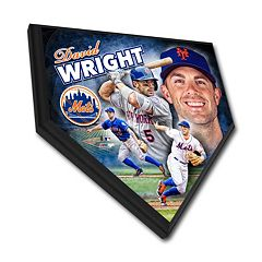 New York Mets David Wright Home Plate Plaque