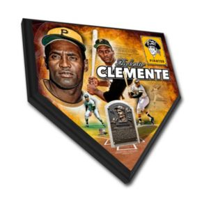 Pittsburgh Pirates Roberto Clemente Home Plate Plaque