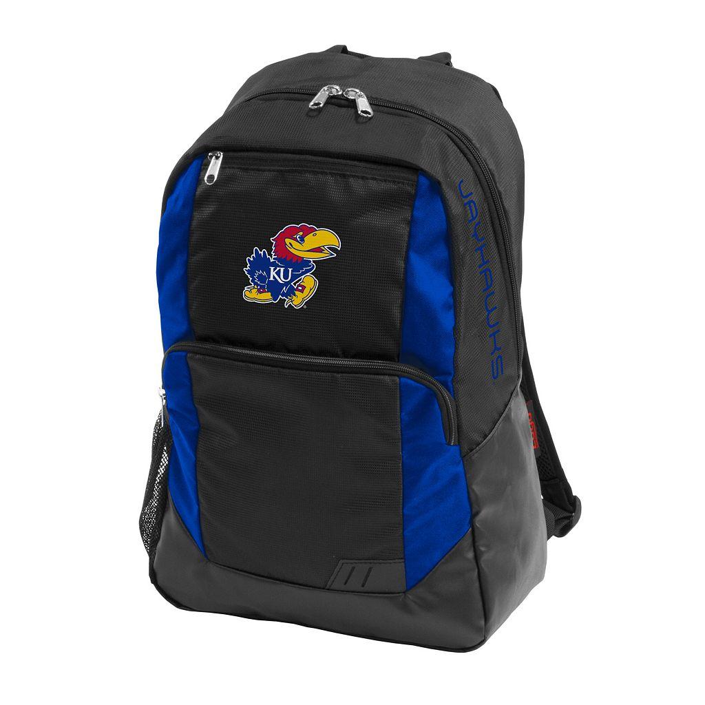 Logo Brand Kansas Jayhawks Closer Backpack