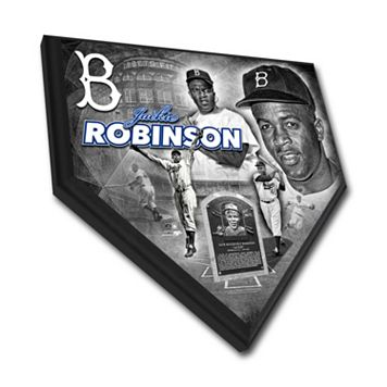 Los Angeles Dodgers Jackie Robinson Home Plate Plaque