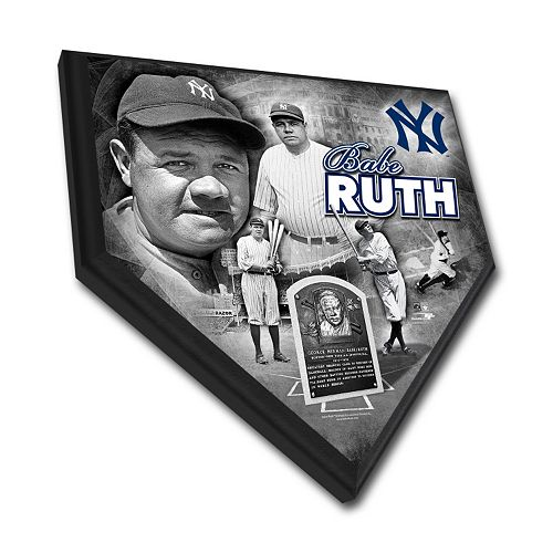 New York Yankees Babe Ruth Home Plate Plaque
