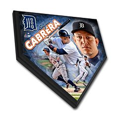 Detroit Tigers Miguel Cabrera Home Plate Plaque