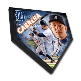 Detroit Tigers Miguel Cabrera Home Plate Plaque
