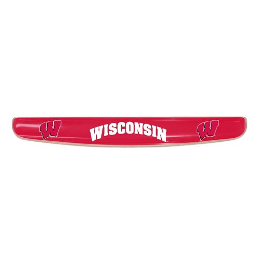 FANMATS Wisconsin Badgers Keyboard Wrist Rest