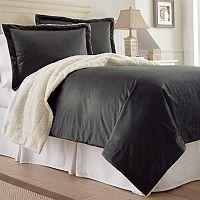 Serta Faux-Mink Sherpa Comforter Set