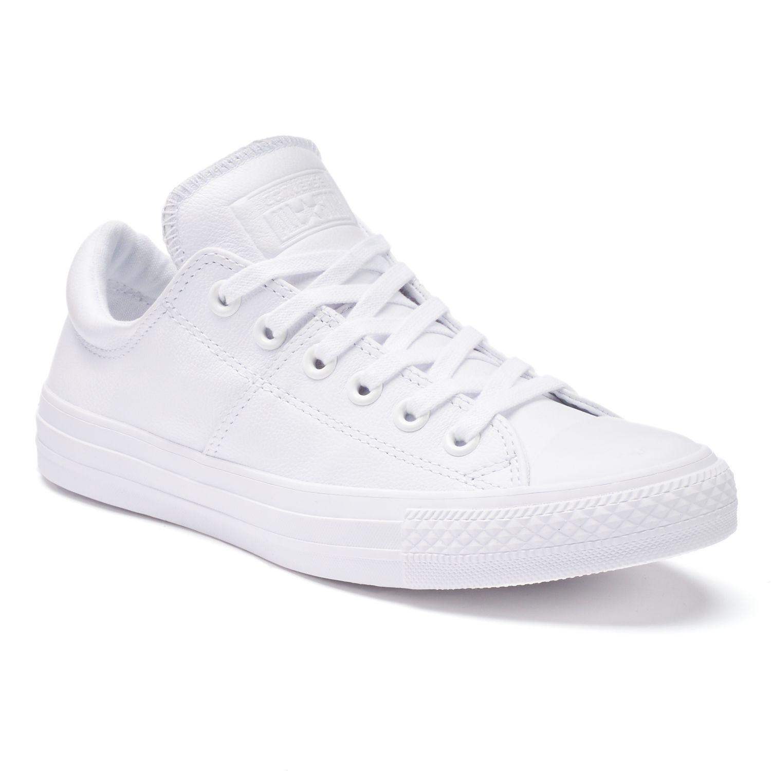 White Low Top Shoes