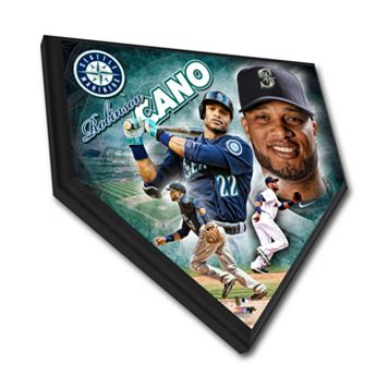 Seattle Mariners Robinson Cano Home Plate Plaque
