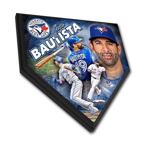 Toronto Blue Jays Jose Bautista Home Plate Plaque
