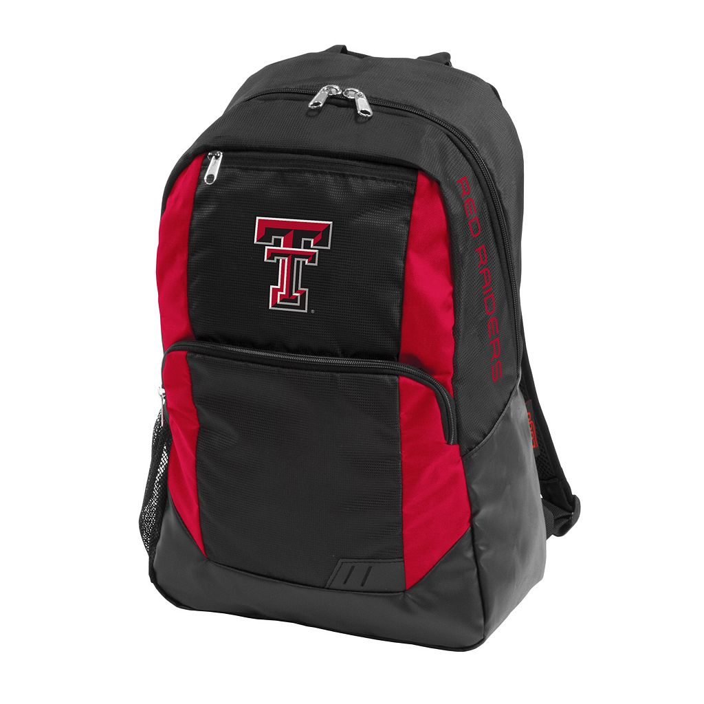 Logo Brand Texas Tech Red Raiders Closer Backpack