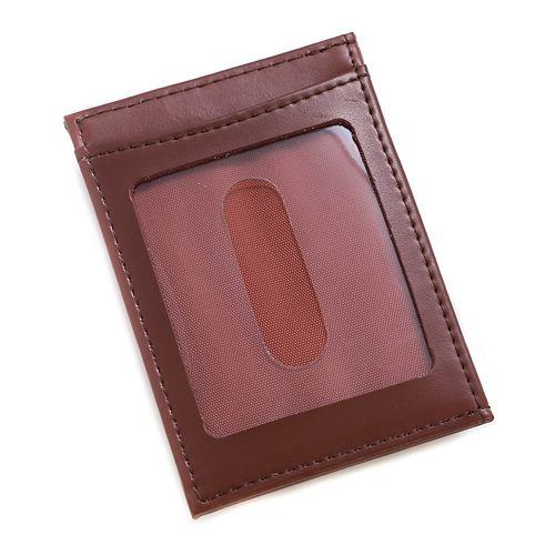 Men's Bey-Berk Leather Magnetic Money Clip Wallet