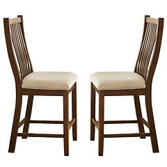 Branton Home Kayan Counter Chair 2-piece Set