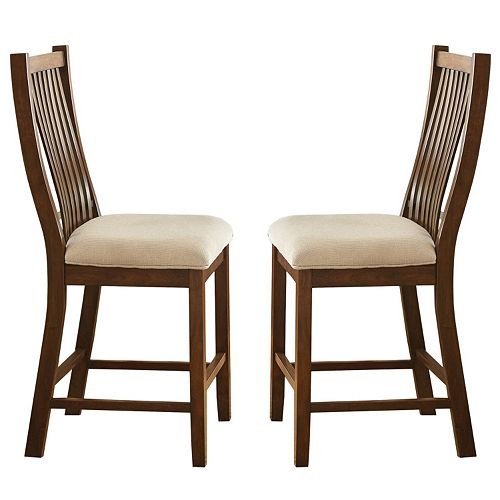 Branton Home Kayan Counter Chair 2-piece Set